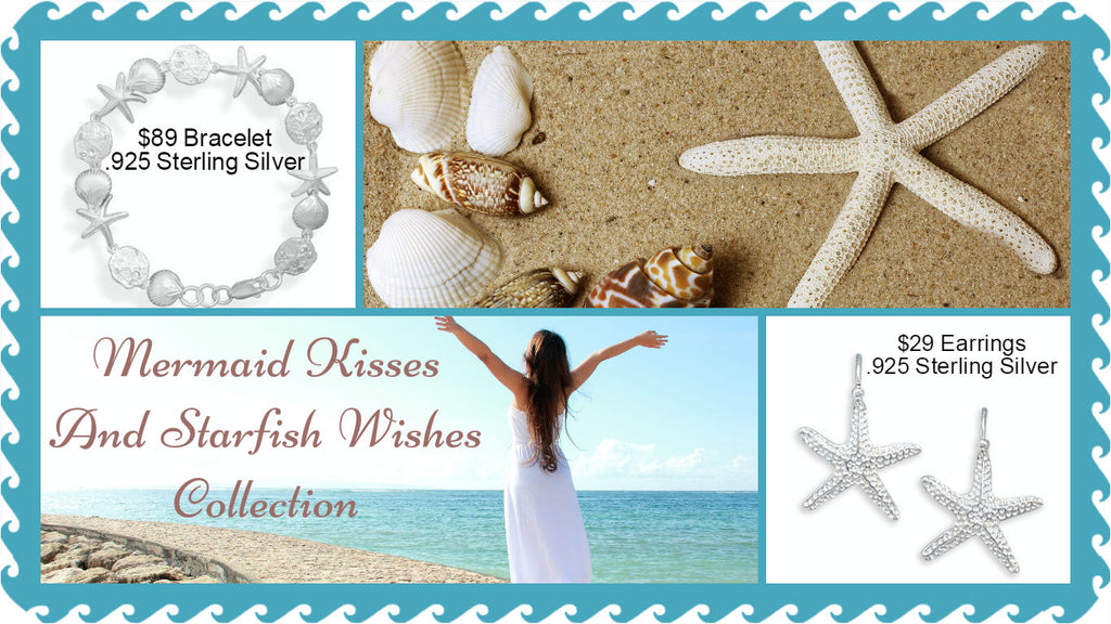 Mermaid Kisses and Starfish Wishes Jewelry Collection by The Iced Sugar Cookie