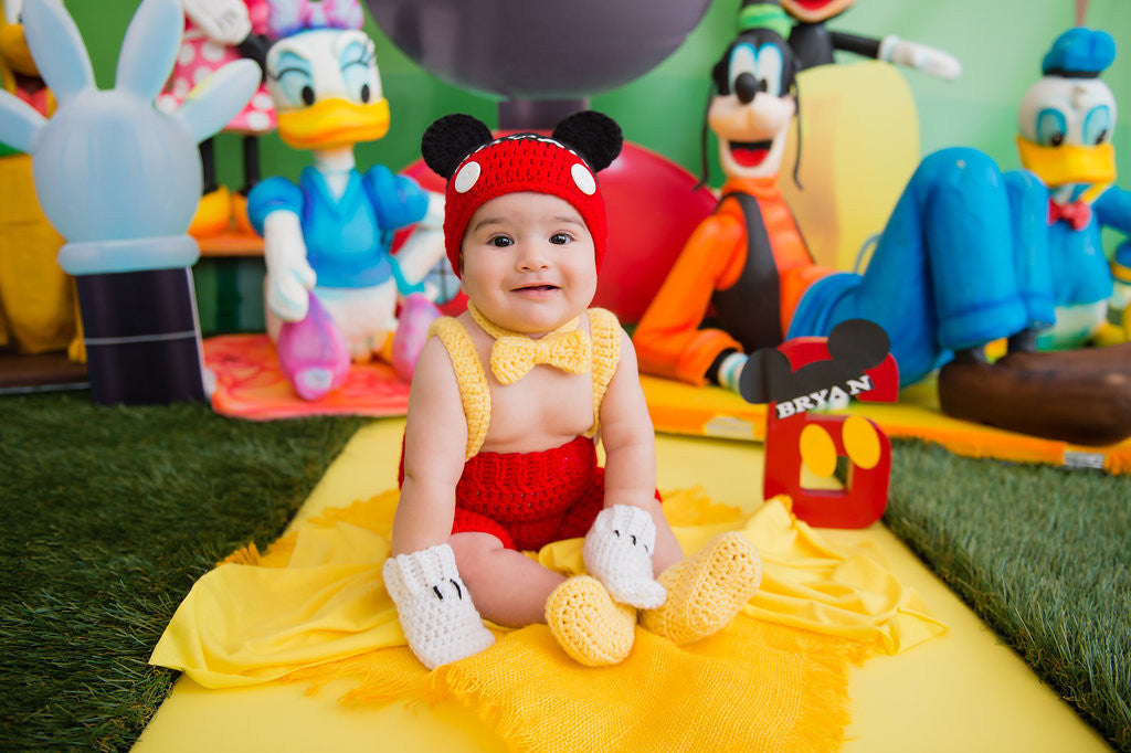Bryan S Mickey Mouse Clubhouse 6 Month Birthday Party