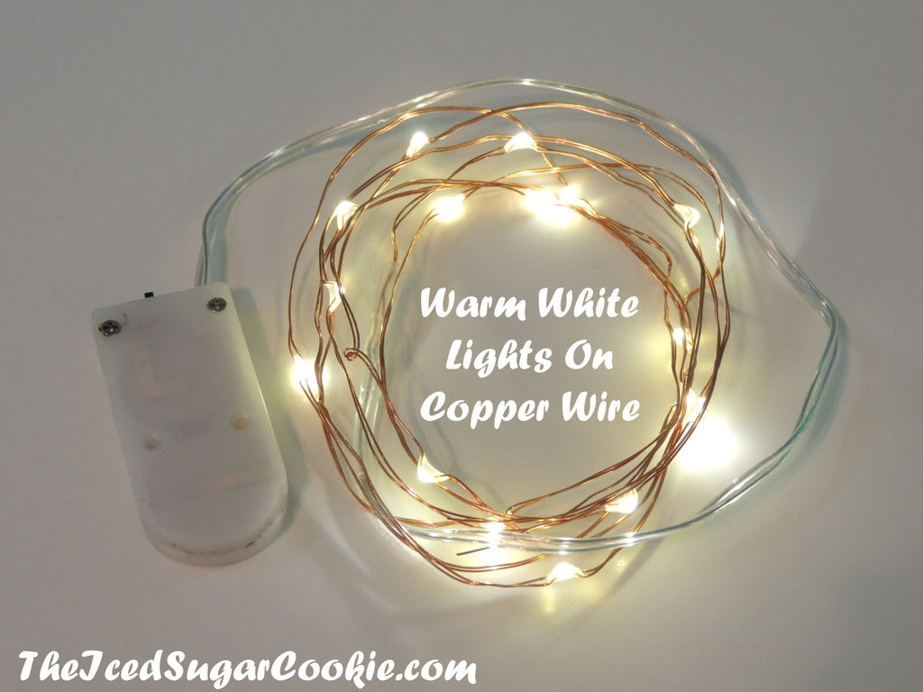 LED Birthday Party Lights Battery Operated Fairy Lights TheIcedSugarCookiecom Birthday Party Lights