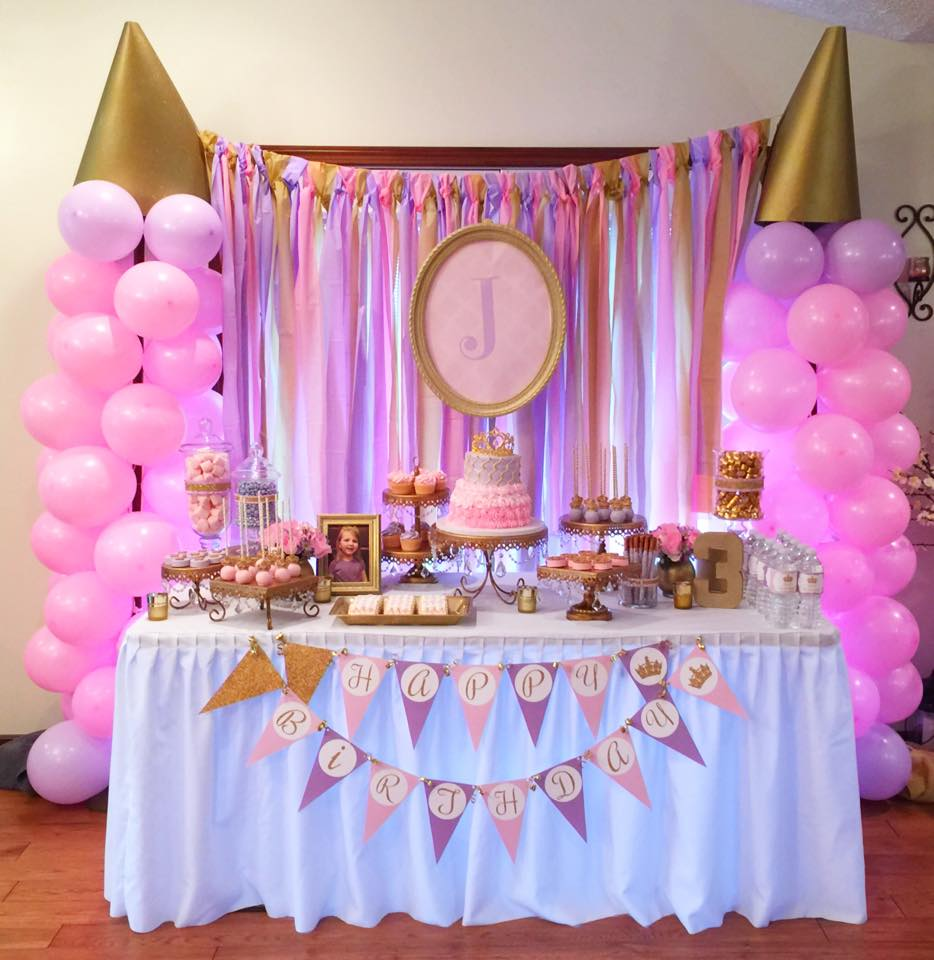 kaaajaplace: Princess Birthday Party |Princess Birthday