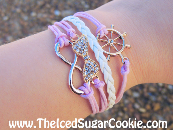 Trendy bracelets for teen girls and women by The Iced Sugar Cookie