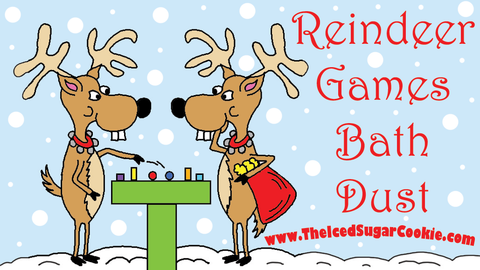 Reindeer Games Bath Dust by The Iced Sugar Cookie Bath And Body