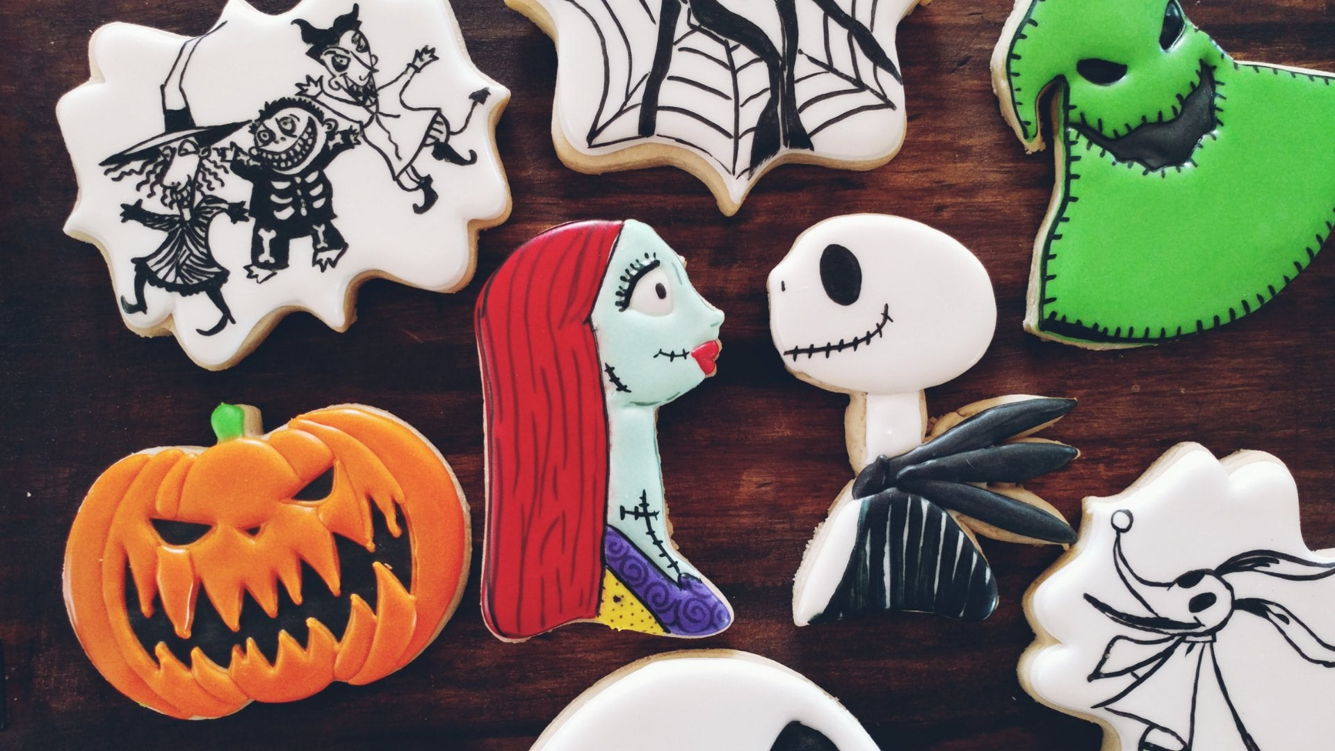 The Nightmare Before Christmas Cookies by Ginger Snapped Sweets on TheIcedSugarCookie.com