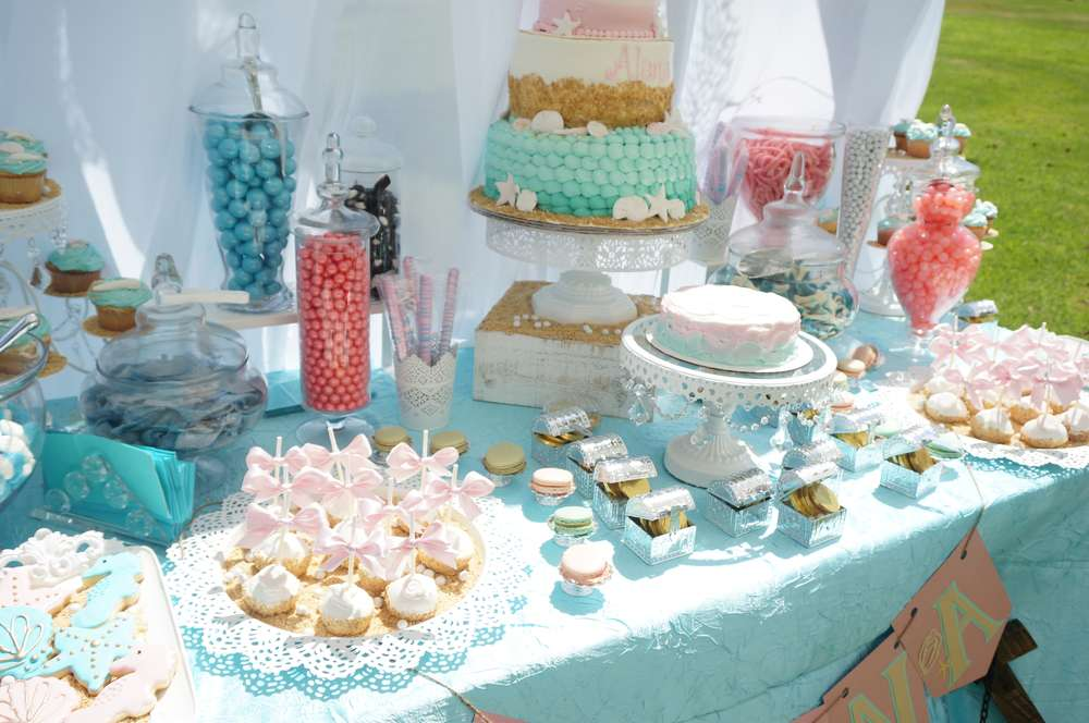 Mermaid Under The Sea Birthday Party Bash TheIcedSugarCookie A Toi Events Events By Razon