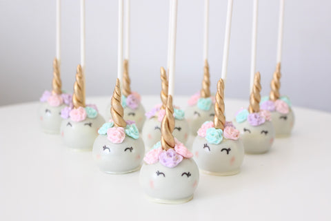 Unicorn Desserts Unicorn Cake Unicorn Cake Pops Unicorn Cupcakes TheIcedSugarCookie.com Just Add Sugar