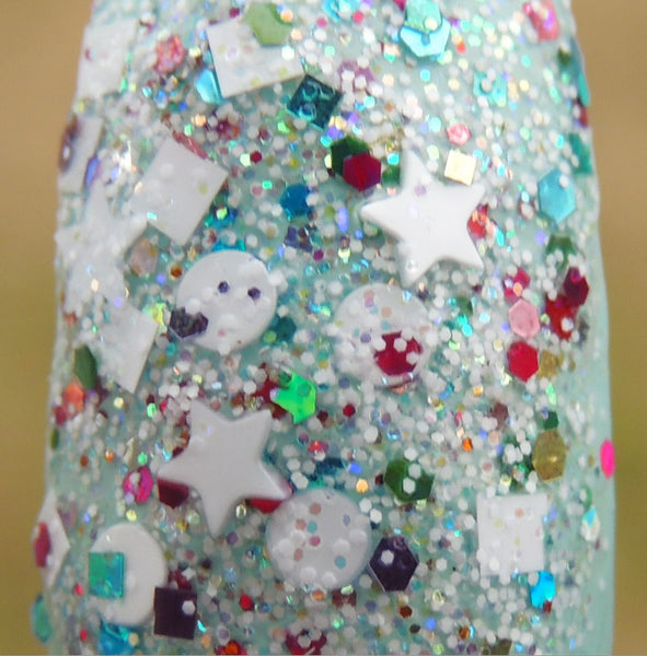 Unicorns Love Sugar Cubes Nail Polish by Glitter Lambs-Custom handmade nail polish