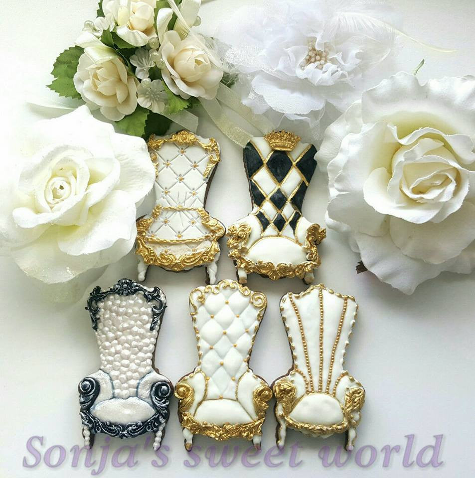 Victorian Furniture Sugar Cookies TheIcedSugarCookie.com Created by Sonjin slatki svet Sonja's sweet world