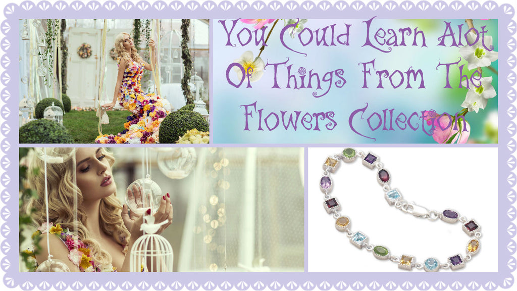 You Could Learn A Lot Of Things From The Flowers Jewelry Collection by The Iced Sugar Cookie