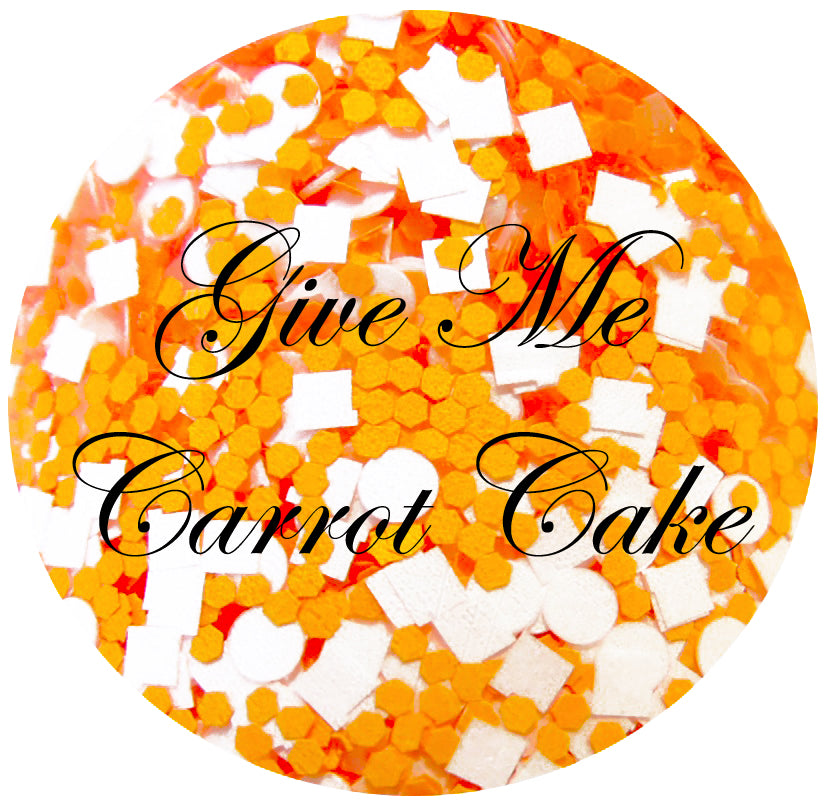 Give Me Carrot Cake Glitter Lambs Nail Polish Spring Collection of 4 2016