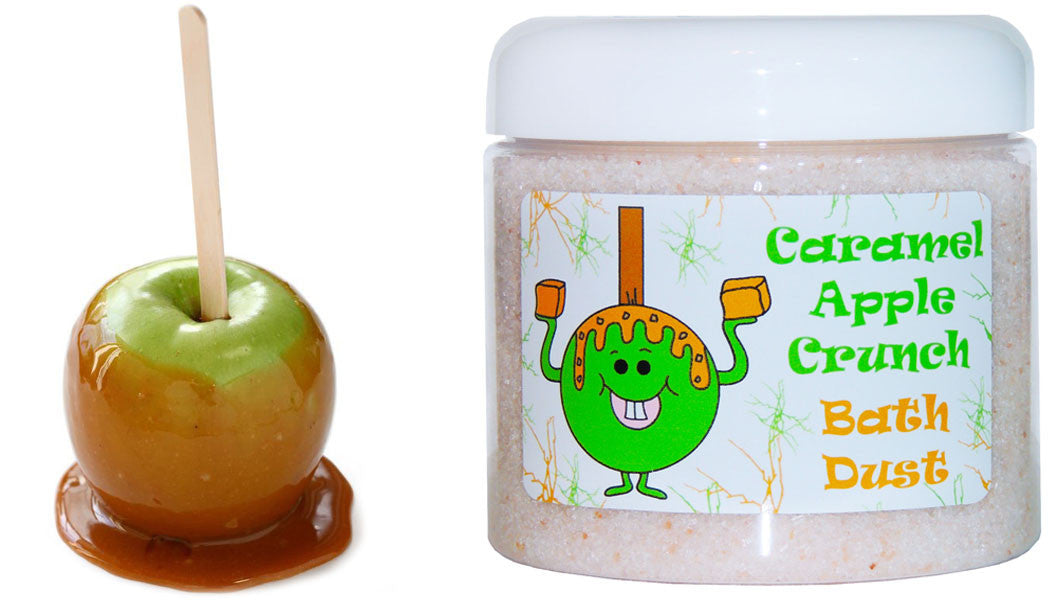 Caramel Apple Crunch Fragrance Oil DIY Bath Bombs Bath Body Products Lotions Lip Gloss Candles Commercial Use Illustrations for sale Red and Green Apple With Caramel by The Iced Sugar Cookie www.theicedsugarcookie.com