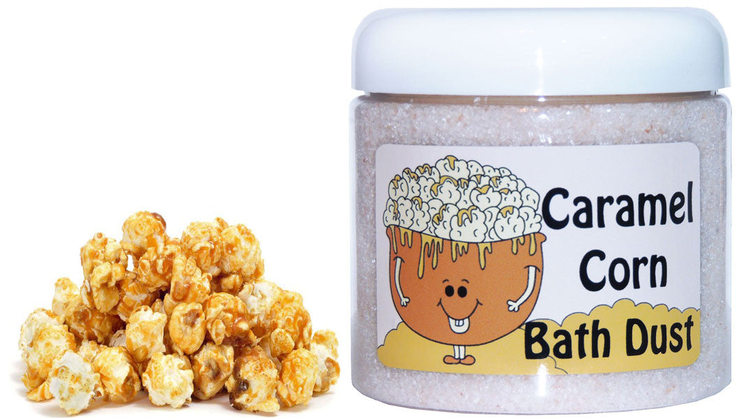 Caramel Corn Bath Dust