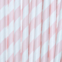 Cotton Candy Unicorn Straws-PKG of 25