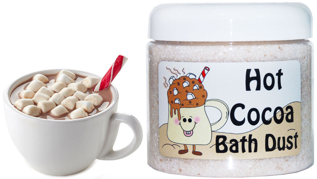 Hot Cocoa Bath Dust