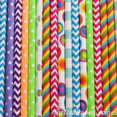 Silly Monster Party Straws