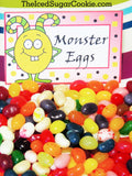 "Monster DIY Birthday Party Food Label Tent Cards-Monster Teeth, Monster Munch, Monster Toes, Fuzzy Food Monster Teeth: You could use candy corn or use cheeto's. Monster Munch: Popcorn mixed with crumbled cookies, M&M's, colored marshmallow's, Pop Rocks.Monster Toes: Make pig in a blankets.Fuzzy Food: Cut peaches in half and turn face down on platter so the fuzzy side is up. Stick eyeball stickers to the peach fuzz. Prop up the ""Fuzzy Food"" card next to it. Monster Birthday Party DIY Food Label Tent Cards-Monster Cakes, Monster Treats, Monster Grub, Monster Cookies Monster Cakes: bake some monster cupcakes and add our ""Monster Cakes"" food card next to them. Monster Treats: Fill a bowl with lots of different candy and prop the ""Monster Treats"" card next to it. Monster Grub: Make some green tinted banana pudding and stick the ""Monster Grub"" card next to it. Monster Cookies: Bake some round sugar cookies and decorate them like little monsters. Monster Birthday Party DIY Food Label Tent Cards-Monster Pizza, Monster Drinks, Monster Cheese Sticks, Bread Sticks Monster Pizza: Order a bunch of pizzas and prop up the ""Monster Pizza"" card next to it.Monster Drinks: Prop this card next to the drinks you are offering. Monster Cheese Sticks: Order Cheese Sticks and prop this card next to it.Bread Sticks: Order bread sticks and prop this card next to it. Monster Birthday Party DIY Food Label Tent Cards-Monster Chips, Monster Burgers, Monster Dogs, Monster Dip Monster Chips: Fill a bowl with any kind of chips and prop this card next to it. Monster Burgers: Grill some delicious hamburgers and use this card with it. Monster Dogs: Whip up some hot dogs and use this card next to it.Monster Dip: Make some purple tinted french onion dip and prop this ""Monster Dip"" card up next to it. Monster Birthday Party DIY Food Label Tent Cards- Monster Apples, Monster Fruit, Monster Berries, Monster Sweets Monster Apples: Fill a bowl with red and green apples. Add funny sticker eyeballs to each apple. Monster Fruit: Cut up strawberries, bananas, oranges, pineapples and add to a platter. Then hot glue 1 plastic google eye to a toothpick and stick down in each fruit piece. Monster Berries: Fill a bowl with strawberries and red grapes. Sprinkle with sugar. Monster Sweets: Fill a bowl with skittles and prop up the ""Monster Sweets"" card next to it. Monster Birthday Party DIY Food Label Tent Cards- Monster Eggs, Monster Pretzels, Monster Suckers, Monster Muffins Monster Eggs: Fill a bowl with colorful jelly beans and use this card. Monster Pretzels: Use yogurt covered pretzels for this. Monster Suckers: Fill a bowl with some Dum Dum suckers. Monster Muffins: Buy Entenmann's mini muffins and fill them in a bowl. If your throwing a Little Monster birthday party and need a fun DIY Idea then try this Monster Birthday Party Package Kit out! This is a digital download for you to PRINT and CUT. This will be available to you as soon as you pay.   You will get 32 food cards that comes as 7 JPEG templates.  These food cards were created on an 8.5x11 sheet and has 4 food cards per page. Each card measures approx 3- 3/4 inch wide and 2- 1/2 inch tall after they have been folded.  What you are getting in your ZIP file:  1. Food Tent Cards of 4- ""Monster Teeth, Monster Munch, Monster Toes, Fuzzy Food""  2. Food Tent Cards of 4- ""Monster Chips, Monster Burgers, Monster Dogs, Monster Dip""  3. Food Tent Cards of 4- "" Monster Pizza, Monster Drinks, Monster Cheese Sticks, Bread Sticks""  4. Food Tent Cards of 4- ""Monster Apples, Monster Fruits, Monster Berries, Monster Sweets""  5. Food Tent Cards of 4- ""Monster Eggs, Monster Pretzels, Monster Suckers, Monster Muffins""  6. Food Tent Cards of 4- Blank  7. Food Tent Cards of 4- Blank  You will get 6 cupcake toppers that was created on an 8.5 x 11 sheet. You can use a 3 inch decorative hole punch on these cupcake toppers. The cupcake toppers were created in photoshop as 3.5 inch toppers. Just print and cut them out using the hole punch and then tape a toothpick to the back of the cupcake topper and stick down in your cupcakes. It's that easy! You will get 6 flag banners that comes as 2 JPEG templates.  3 flags per sheet on an 8.5 x 11. How to make these: Just print your digital download and cut them out. Then use a hole punch and punch two holes in each flag banner at the top and run some ribbon through. Then just hang it up. You will get 4 Large Monster illustrations. 4 JPEG and 4 PNG transparent background. 300dpi Red Monster- 6.737 x 10.603 inches Yellow Monster- 7.607 x 9.75 inches Blue Monster- 7.623 x 9.813 inches Dark Blue Monster- 7.607 x 9.75 inches Green & Purple Monster- 7.907 x 10.293 inches  Copyright (c) 2016 The Iced Sugar Cookie and its licencors. All rights reserved. For personal use only. Do not sell these or give them away for free. Monster Birthday Party DIY Food Label Tent Cards-BlankThese are are blank so you can type or write your own words. Just open this image up in Photoshop and type your own words."