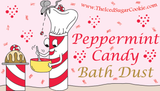 Peppermint Candy Bath Dust