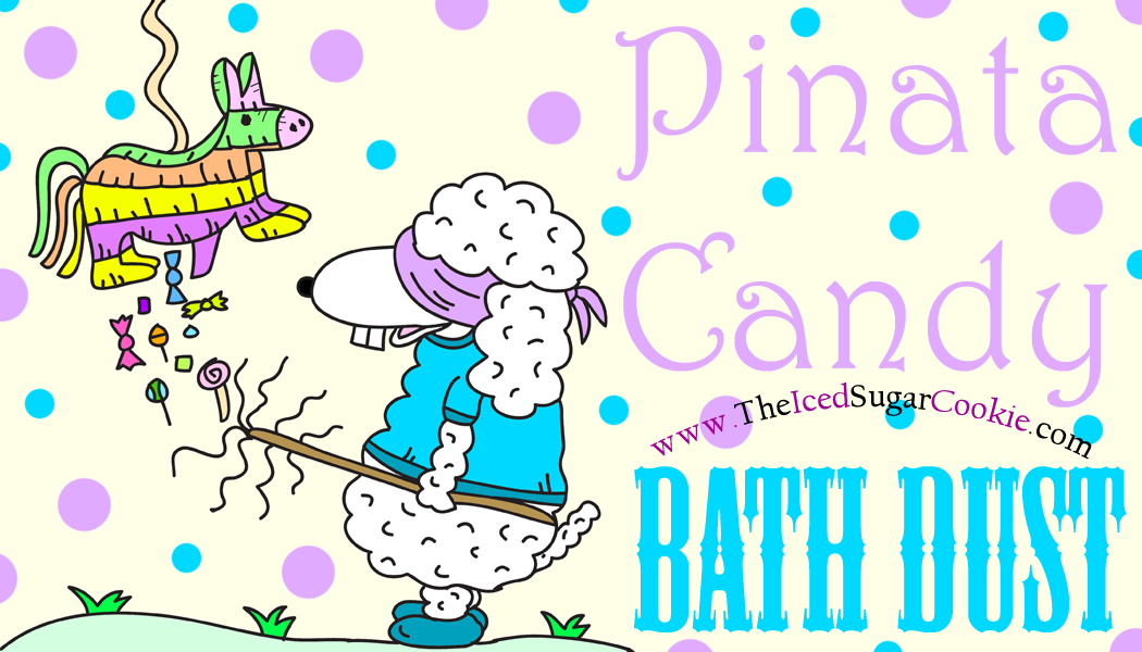 Pinata Candy Bath Dust