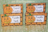 Pumpkin Food Cards