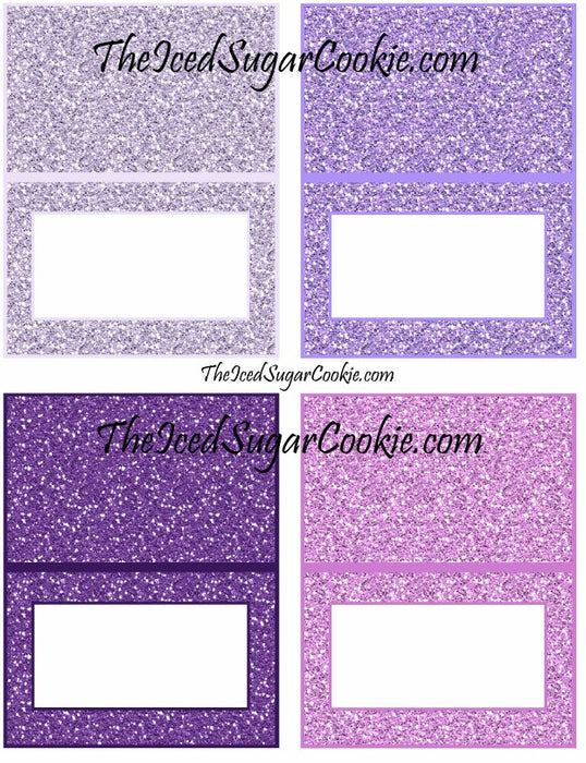 image about Printables Food known as Printable Glitter Mermaid Meals Playing cards Electronic Obtain