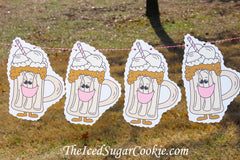 Root Beer Float Ice Cream Social Tailgate Party Banner