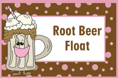 Root Beer Float Birthday Party Printables