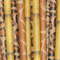 Safari Party Straws