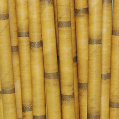 Tiki Torch Paper Straws Bamboo Hawaiian Luau Aloha Drinking Paper Straws Birthday Party Straws Tiki Bamboo Paper Straws by The Iced Sugar Cookie