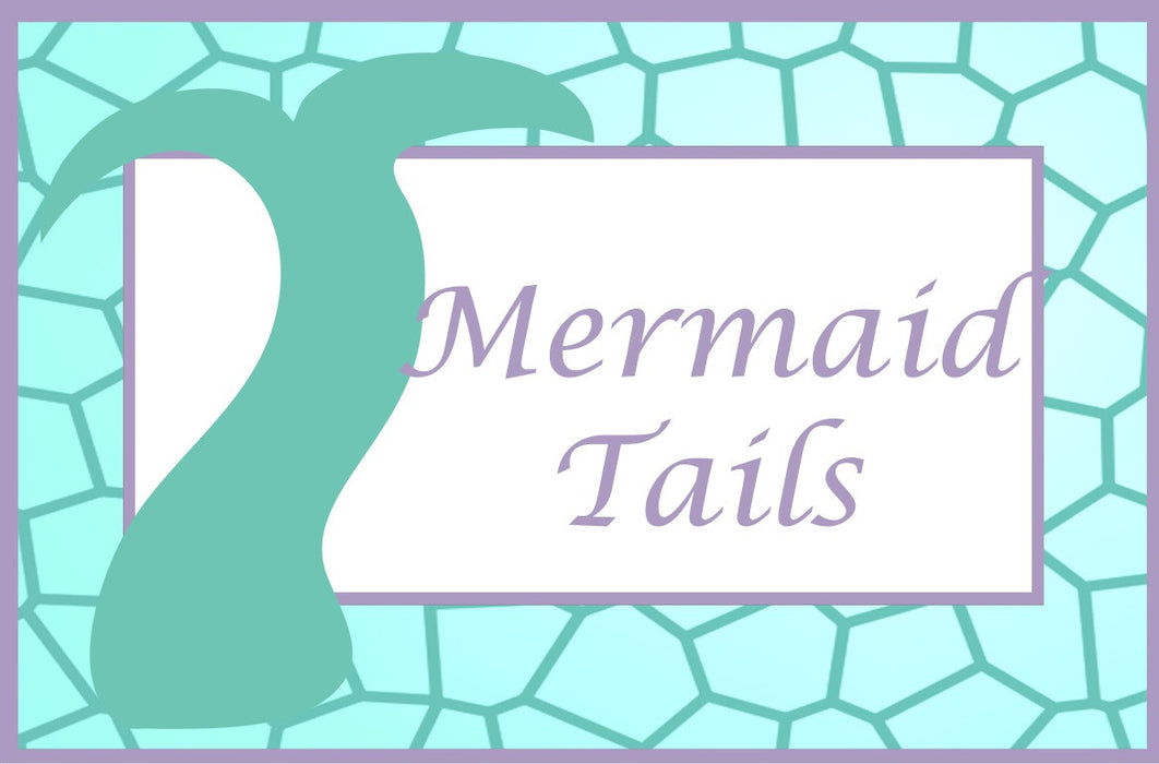 Printable Mermaid Aqua Food Label Cards | Digital Download by The Iced Sugar Cookie Great for mermaid birthday party, baby shower, or wedding shower.