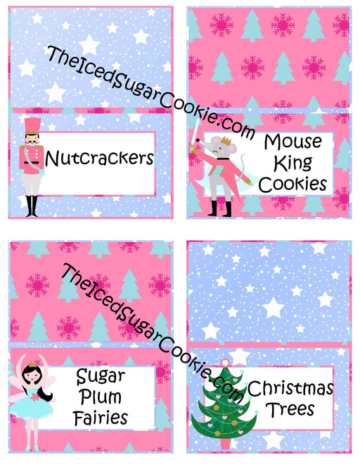 100 The Nutcracker Food Cards Printable Digital Download