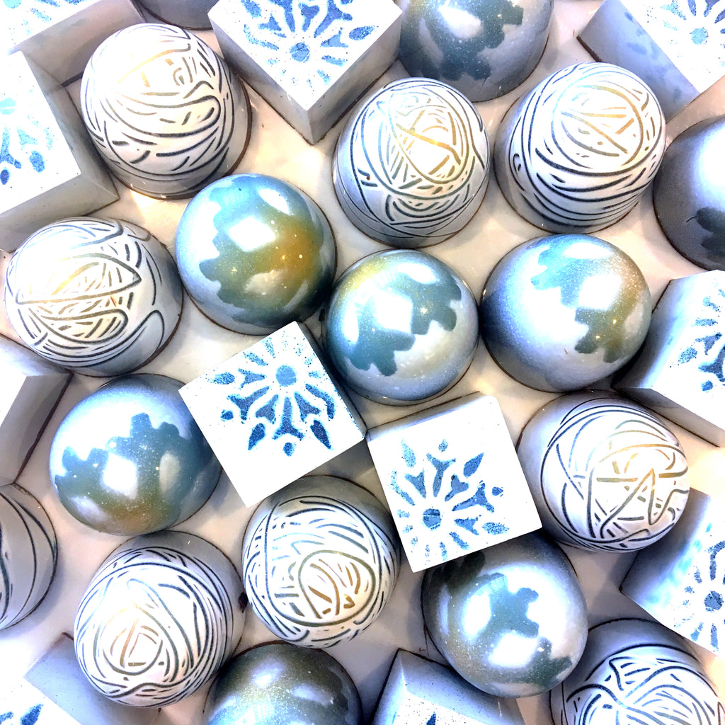 Nine piece box - winter caramels