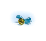 sherlock light blue extra small glass pin
