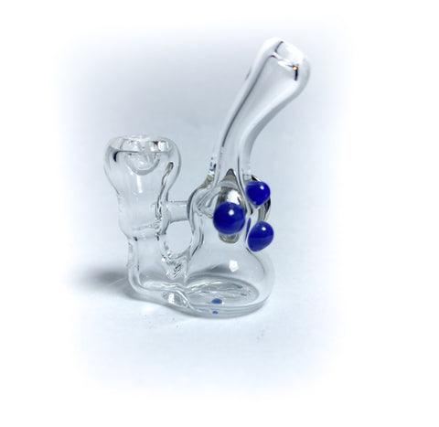 Basic Bubble Mini Glass Pin - Purple (3)