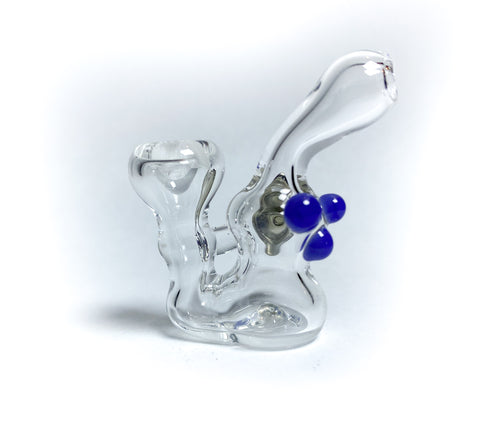 Basic Bubble Mini Glass Pin - Purple (7)