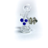 basic bubble mini glass pin