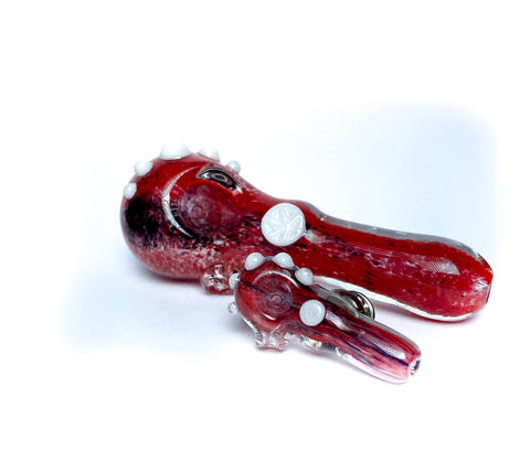 (Matching Set) Spoons Mini Glass Pin -Red, Black and White