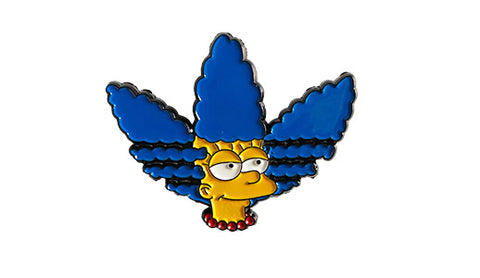 simpsons 3 stripes soft enamel pin