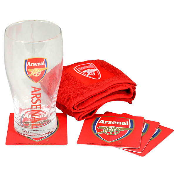 Arsenal Mini Bar Set - soccerhome.ca