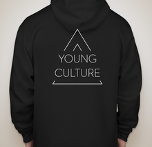 Load image into Gallery viewer, A Young Culture Black Hoodie - soccerhome.ca