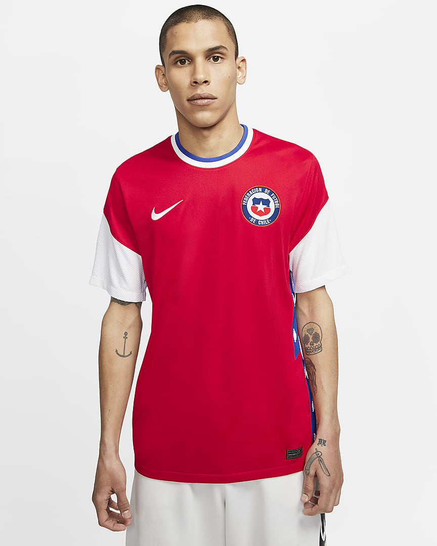 Chile 2020 Nike Home Jersey