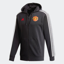 Load image into Gallery viewer, Manchester United Adidas 3-Stripes Full-Zip Jacket
