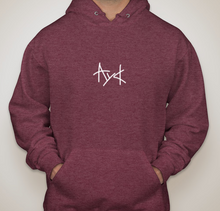 Load image into Gallery viewer, A Young Culture Maroon Hoodie - soccerhome.ca