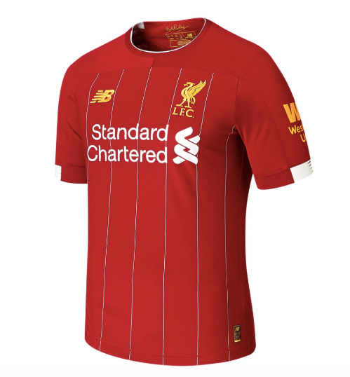 Liverpool FC Home Authentic Short-Sleeve Jersey 2019/2020 - soccerhome.ca