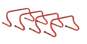 "9"" Speed Hurdle - Red (each) - soccerhome.ca"