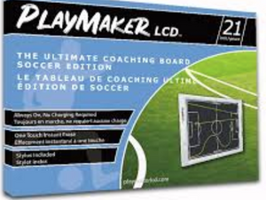 Playmaker LCD - Ultimate Soccer Coaching Board - soccerhome.ca