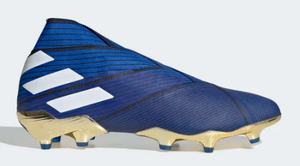 Adidas Nemeziz 19+ FG (Royal Blue/White/Gold) - soccerhome.ca
