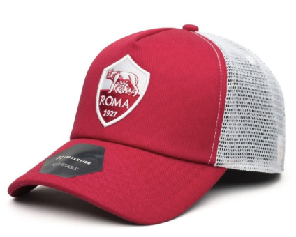 AS Roma Mesh Backed Hat - soccerhome.ca