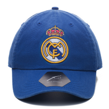 Load image into Gallery viewer, Real Madrid Bambo Blue Cap - soccerhome.ca
