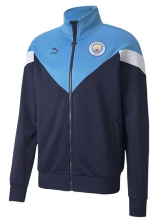Manchester City Iconic Puma Track Jacket - soccerhome.ca