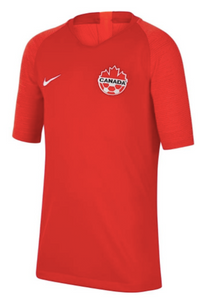 Canada Youth Unisex Nike Home Jersey 2019/2020 - soccerhome.ca