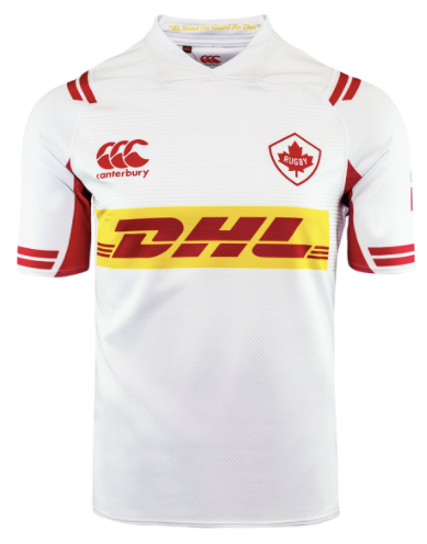 Canada CCC Away Youth Replica Rugby Jersey - soccerhome.ca